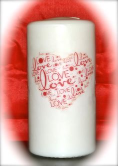 Valentine Candles Candle Craft, Candle Spells, Love, Candle Making, Pillar Candles, Mugs, Tableware, Crafts, Amor