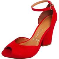 Closed Red sandal Vizzano