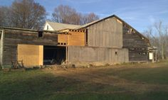 Back of my barn. Eden, NY