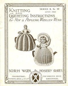 vintage tea cosy knitting patterns