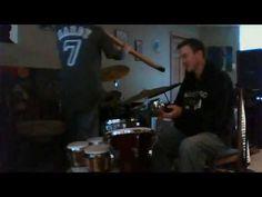 """Electrophones - """"Didjeridoo"""" youtube music video.  Travis - djembe, percussion; Levon - didjeridoo"""