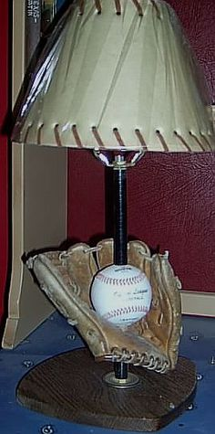 Base ball room decor,base ball lamps,baseball bats,baseball room sports