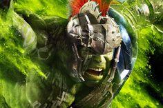 Una serie di coloratissimi characters poster da #ThorRagnarok