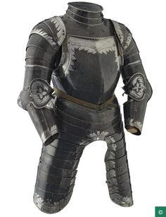 Landsknecht three-quarter armor Royal Armory Leeds.