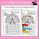 Here's a fun Thanksgiving activity to practice counting and graphing. Students will color the shapes using the Color Key and then count the number ...