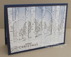 Lovely As A Tree - With Woodland Embossing Folder | Teri's Craft Spot | Bloglovin'