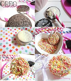 Oreo Cookie Pops by: www.flavoursandfrosting.blogspot.com #oreo_cookie_pops