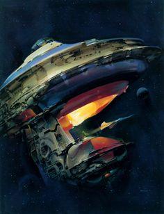 70s Sci-Fi Art - John Berkey