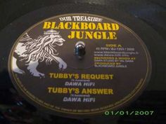 Dawa Hifi - Tubby's answer Types Of Music, Oppression, No Response, Wisdom, Persecution
