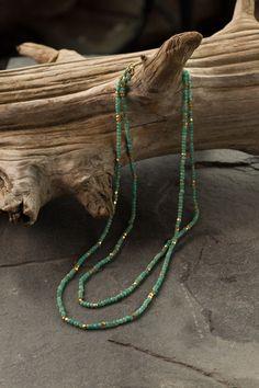 Mothology.com - Amazonite Beaded Long Necklace, $158.00 (http://www.mothology.com/amazonite-beaded-long-necklace/)