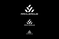 """We oversaw VI design for """"Ark League"""", the X-sports world competition.""""Ark League"""" is the newly established X-sports world competition, created via the addition of a skateboarding world competition to the existing BMX Flatland World Circuit(BFWC)Final """"F… Ark, Atari Logo, Logos, Geometry, Logo"""