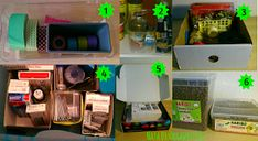 organizzare con le scatole Lava, Ideas Para Organizar, Reuse, Yogurt, Repurposed, Recycling, Organization, Diy, Hobby