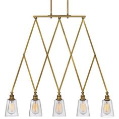 Gatsby 5-Light Linear Suspension by Hinkley Lighting