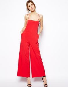 Red Jumpsuit by Asos. Buy for $30 from Asos