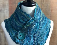 Fiber Artist Creating Wearable Fiber and Textile by Woolysquirrel