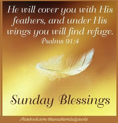 Good morning and happy Sunday!  Be blessed.