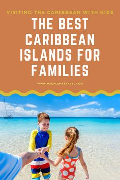 Not all kid-friendly destinations are created equal. Learn which islands are the most safe, engaging, and fun for kids. And don't worry - the adults will love them, too! #Caribbeantravel #familytravel #luxuryfamilytravel #caribbeanwithkids Road Trip With Kids, Travel With Kids, Family Travel, El Yunque Rainforest, Kid Friendly Vacations, Grace Bay Beach, Flying With Kids, Airplane Travel, Beaches In The World