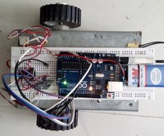 Mobile controlled car using Arduino+Bluetooth Module