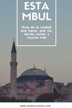 Estambul es de esas ciudades que todo el mundo recomienda, que a todos maravilla y en la que nosotros vivimos una buena temporada. Pero, ¿qué cosas deberías saber de la ciudad antes de embarcarte e…