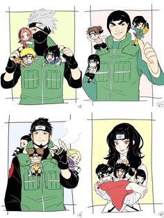 Naruto Shippuden Sasuke, Naruto Kakashi, Anime Naruto, Naruto Comic, Naruto Teams, Naruto Sasuke Sakura, Naruto Cute, Hinata Hyuga, Asuma And Kurenai