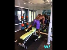 w/Terrell Owens gettin' in a hardcore workout