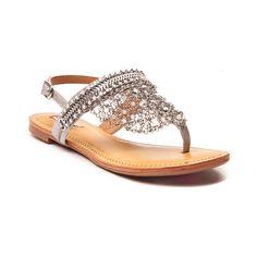 a3ce5505516e98 Factory Direct Womens Not Rated Gem Sandal Women (Silver) online store