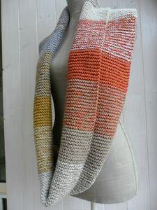 SAM_3723 Snood Scarf, Cowls, Leg Warmers, Boho, Sewing, Knitting, Pattern, Crafts, Diy