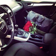 Audi inspo, speedy, fresh roses, gymtime