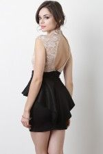 Swanky Doll Dress..love it with the top in black