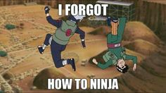 And this, is why they made Naruto: Path to the Ninja....
