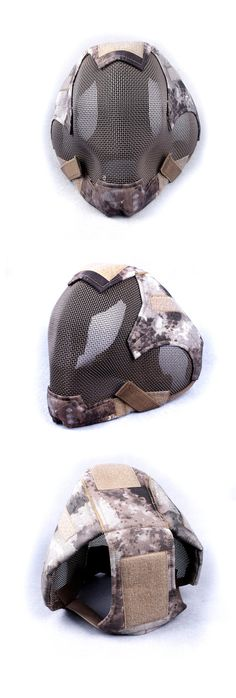 EbairSoft Airsoft parts & Tactical Gear - G TMC FULL HEAD IM style Mesh Mask ( AT ) TMC2057-AT