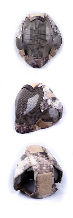 EbairSoft Airsoft parts & Tactical Gear - G TMC FULL HEAD IM style Mesh Mask ( AT ) TMC2057-AT