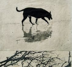 Drypoint Etching from Cardboard with Christine Willcocks at Baldessin Press