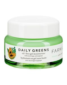 FARMACY | Daily Greens Oil-Free Gel Moisturiser Ginger Extract, Clogged Pores, Face Skin Care, This Is Us Quotes, Moisturiser, Body Care, Health And Beauty, Herbs, Oil