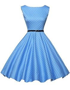 Damen 50er Jahre Vintage Rockabilly Kleid Retro Festliches Kleid Knielang  in mehreren Farben Bitte wählen Sie 1c88d60aa3