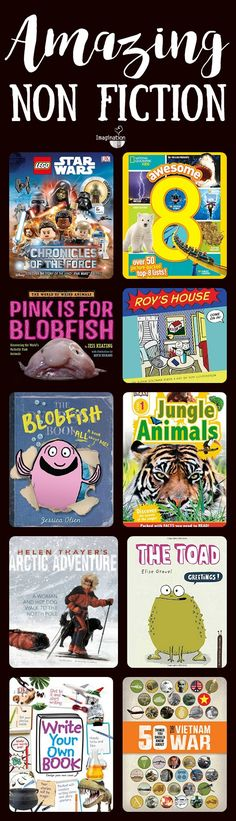 get your kids reading informational text with these new, fantastic non fiction books!