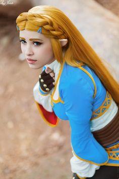 Zelda from Breath of the Wild by LayzeMichelle.deviantart.com on @DeviantArt