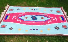 Your place to buy and sell all things handmade Picnic Blanket, Outdoor Blanket, Dhurrie Rugs, See Images, Jodhpur, Folded Up, Make It Simple, Vibrant Colors, Hand Weaving