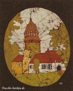 Uschi Batik Art Work Diepholz Schloss