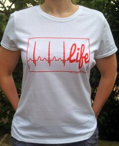 Life Line Women's  FYLU t-shirt available at Fillyourlifeup.com