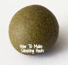 How to Make Hash, Easiest Way to Make Hash, How to Make Hash Quick