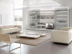 Parete attrezzata con porta tv OFF-SHORE by ALIVAR design Giuseppe Bavuso