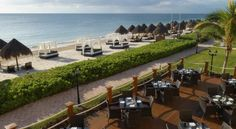 Ocean Coral & Turquesa All Inclusive Resort. Book this Riviera Maya All Inclusive Resort just minutes from Cancun and Cancun Airport in Puerto Morelos town. #CancunAllinclusiveResorts #Cancun #Hotels #Travel #Mexico