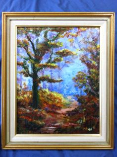 Original acrylic painting on canvas board by Ronda Wiebe.