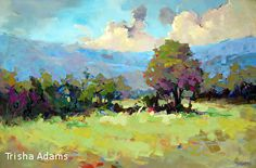 The Clearing by Trisha Adams Oil ~ 24 x 36