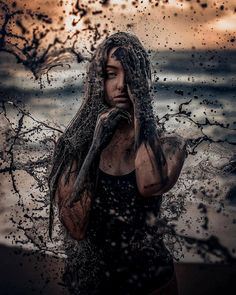 Artsy photos, which one are you, sad girl, photoshop design, paint designs Sad Girl Photography, Water Photography, People Photography, Abstract Photography, Creative Photography, Amazing Photography, Photography Portraits, Photography Ideas, Photography Training