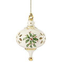 Lenox 2015 Holiday Pierced China Ornament