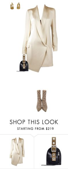 """""""Sin título #715"""" by lolaibzamorano ❤ liked on Polyvore featuring Haute Hippie, Rebecca Minkoff and Gucci"""