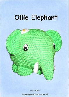 Ravelry: Ollie Elephant pattern by Marike van Loo