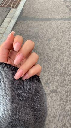 long acrylic natural nails - Long Natural acrylic nails Best Picture For nail art modelleri For Your - Long Natural Nails, Natural Acrylic Nails, Simple Acrylic Nails, Best Acrylic Nails, Long Nails, Acrylic Nail Designs, Short Nails, My Nails, Short French Nails
